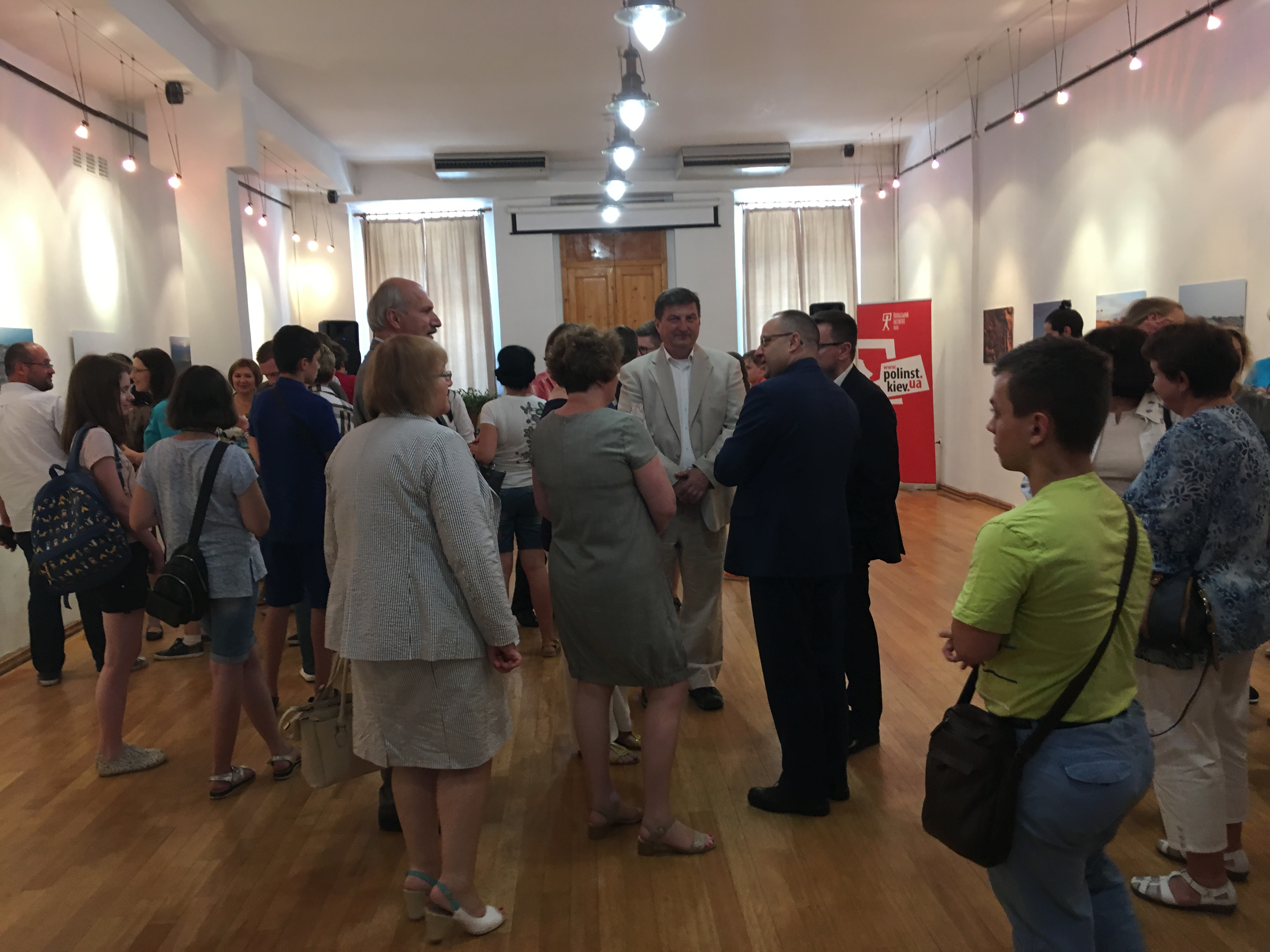 Opening of the photography exhibition in Odessa